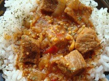 Рис с мадрас карри