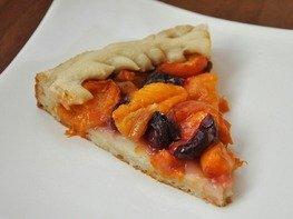 Дрожжевой пирог с фруктами и ягодами