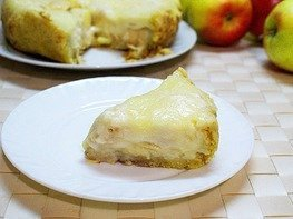 Яблочный пирог Цветаевский в мультиварке