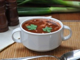 Суп Чили кон карне в мультиварке