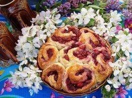 Пирог вишнёвый!
