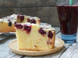 Венский вишнёвый пирог в мультиварке