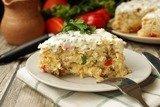 Запеканка из кабачков и риса