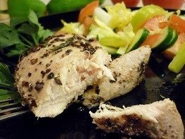 Ароматное куриное филе с тимьяном и розмарином