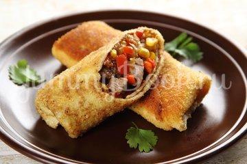 Блинчики с говядиной по-мексикански - шаг 7