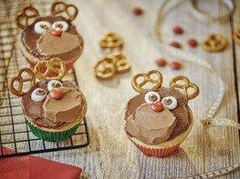 """Рождественские кексы """"Олени"""""""