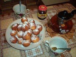 Мячики творожные к чаю
