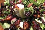 Куриные крылышки «Эль Негро» с мёдом