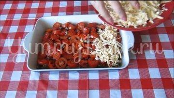Куриная печень с помидорами и сыром - шаг 5