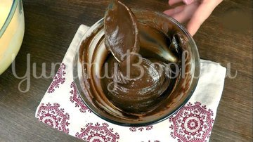 Мраморный кекс - шаг 5