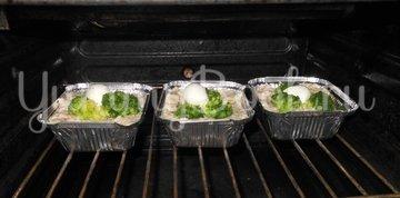 Кекс рыбный с брокколи - шаг 15