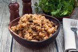 Рис с кабачками и баклажанами в мультиварке