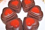 Творожной десерт с клубникой на 14 февраля