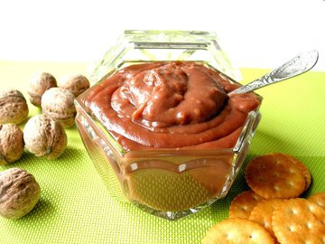 Домашняя шоколадная паста Нутелла