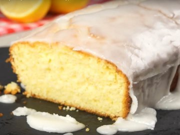 Ароматный лимонный кекс
