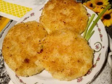 Картофельные зразы (котлетки) с сыром