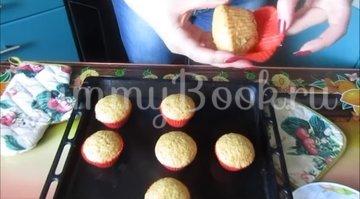 Постные апельсиновые кексы  - шаг 5