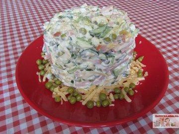 Салат на скорую руку